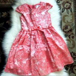 US Angels Girls Floral Print Dress Size 7